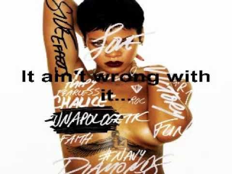 Rihanna - Loveeeeeee Song (feat. Future) (Full Song) (Unapologetic Album 2012) (Lyrics On Screen)