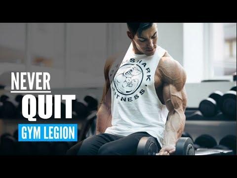 NEVER QUIT | Aesthetic Fitness Motivation 🏆