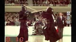 ハイスピードカメラで捉える、剣道高段者の動き。