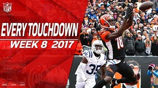 Every Touchdown from Week 8 | 2017 NFL Highlights