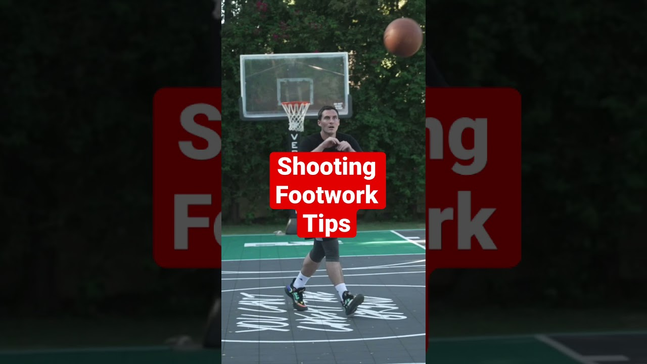 Shooting Routine— Footwork Part 1 #shorts