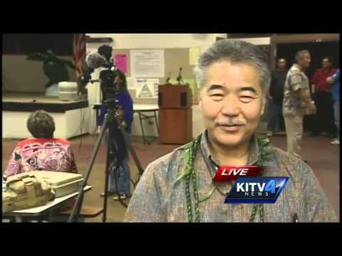 Gov. David Ige visits Big Island, looks into lava concerns