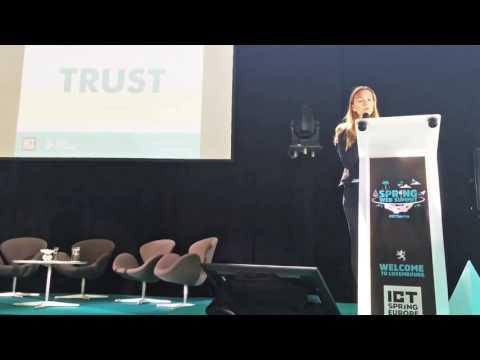 Jelena Djokovic, NDF's National Director: Celebrity endorsements for charities (@ ICT Spring)