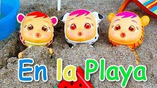 Bebes Llorones Jugando en la Playa thumbnail