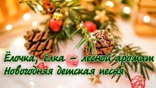 Ёлочка ёлка лесной аромат. Детские новогодние песни. Караоке