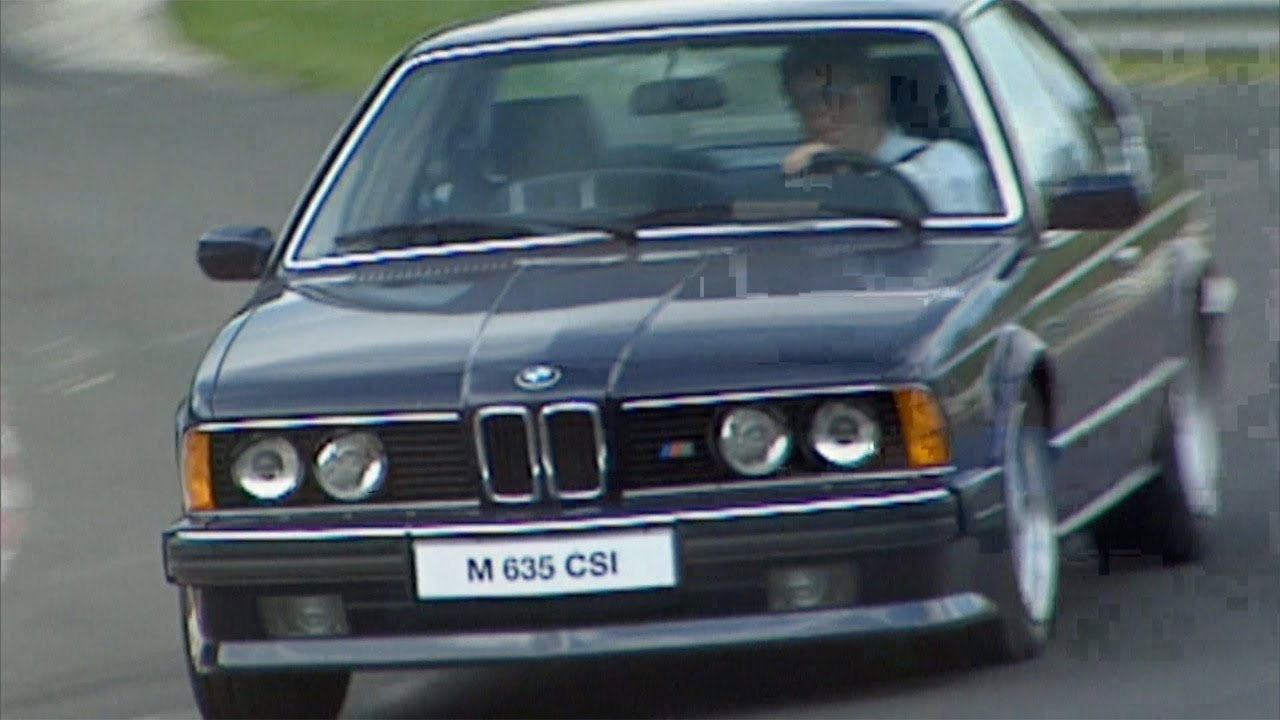 ▻ BMW M635 CSi from 1984 High Speed on the Nürburgring Circuit ...