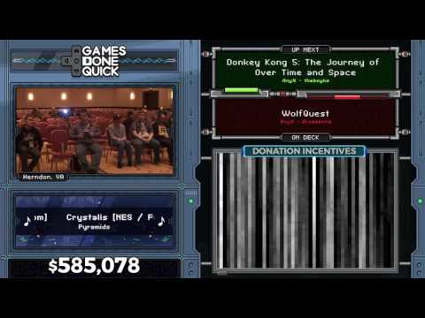 Donkey Kong 5 by theboyks in 9:36 - AGDQ 2017 - Part 110