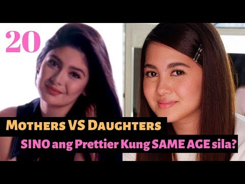 Mother VS Daughter! WHo is Prettier If They were of the SAME AGE? ANG GAGANDA nila!