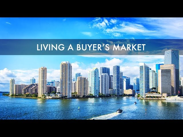 Living in a Buyer's Market