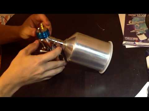 How to disassemble clean and reassemble an HVLP spray gun