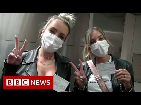 The Vaccine Tourists Heading To The US To Get Their Jab - BBC News