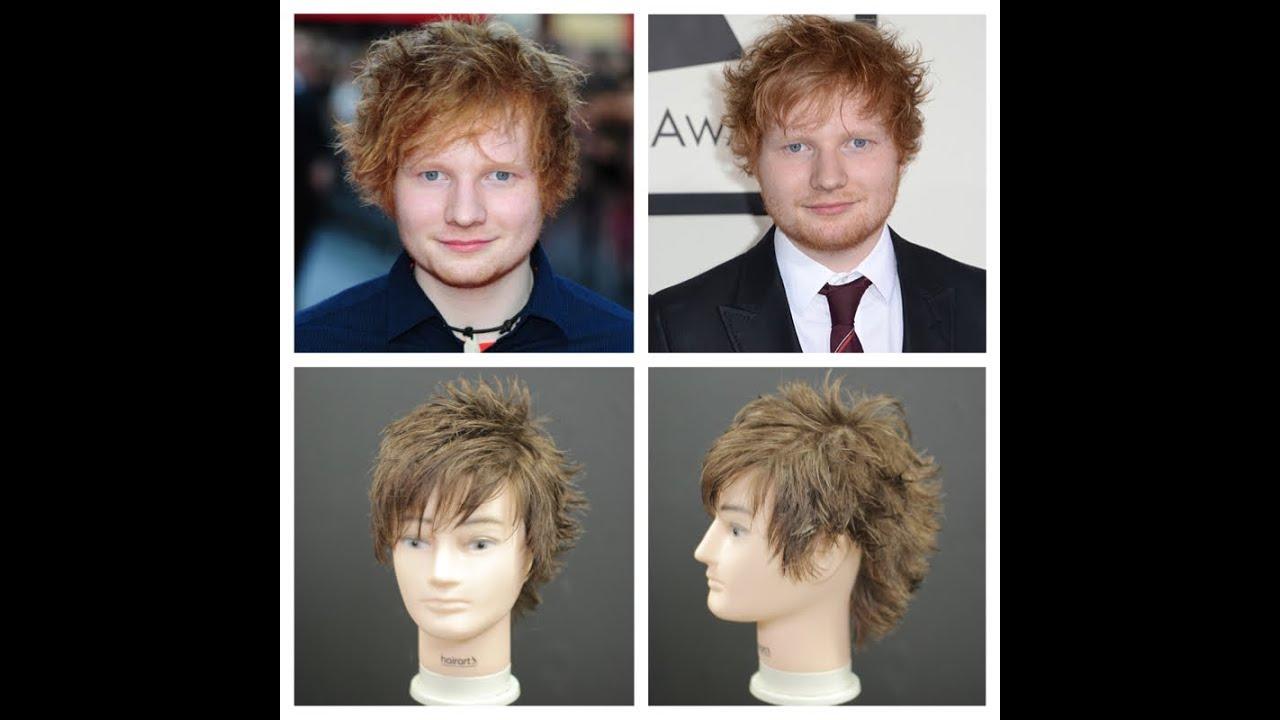 ed sheeran haircut tutorial
