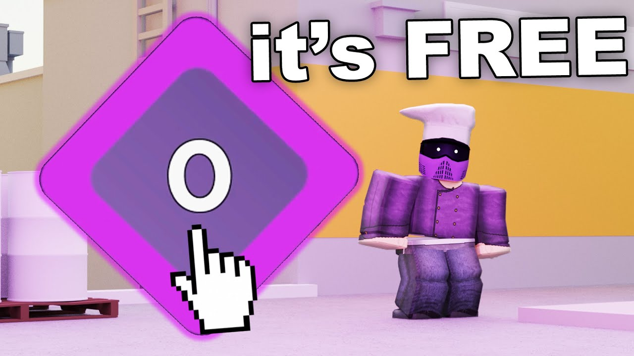 how to get free purple team in arsenal roblox