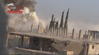Syria War: Explosion in Aleppo suburb and car bomb being prepared