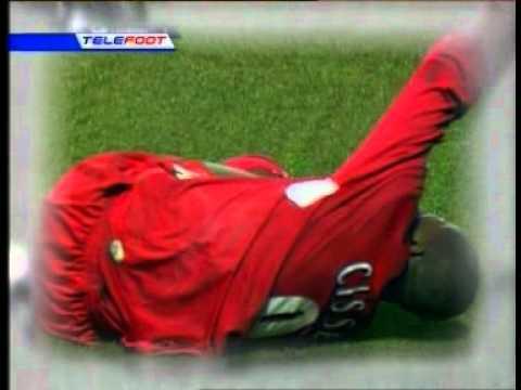 Djibril Cisse Broken Leg
