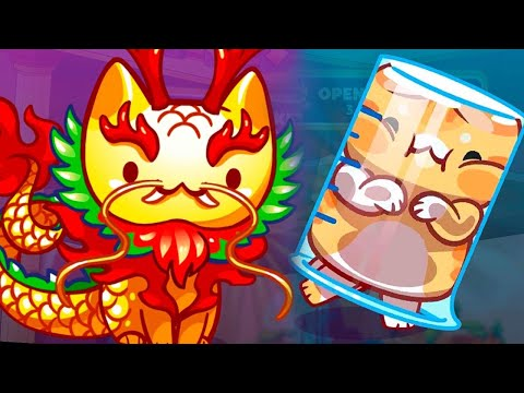 REACHED LEVEL 35 + GOT 17 NEW CATS  | CAT GAME COLLECTOR