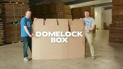 Helluva U Gaylord Box Folding 101: DOMELOCK