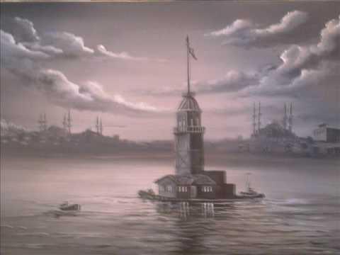 karakalem resim çizimi resim dersi - YouTube