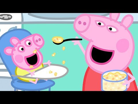 Peppa Pig English Episodes | Baby Alexander's Bath Time With Peppa Pig! | Peppa Pig Official