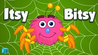 Incy Wincy Spider Children Rhyme | Nursery Song for Kids | Itsy Bitsy