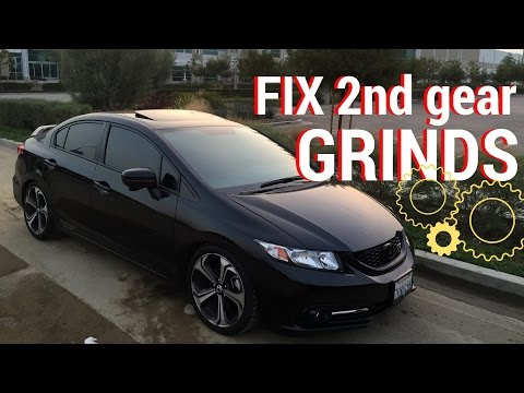 CMC Adjustment- REMOVE 2nd gear GRINDS - YouTube