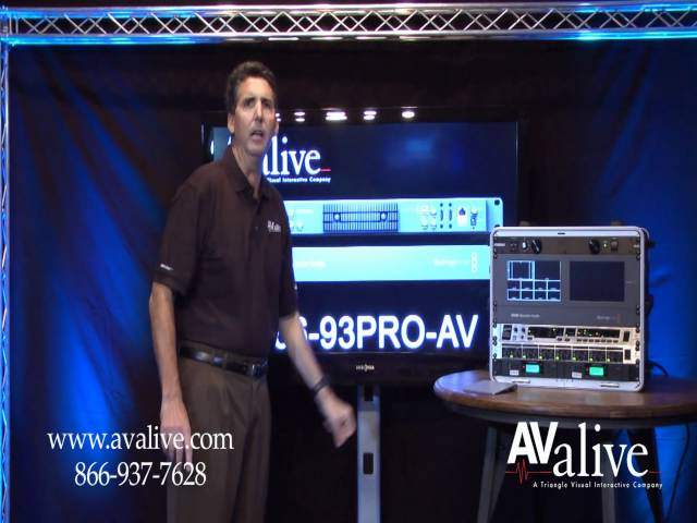 Blackmagic Design ATEM TV Studio HD Switcher SWATEMTVSTU Overview Part 1 AValive.com