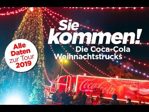 Coca-Cola Weihnachtstrucks 2018: Sie kommen!