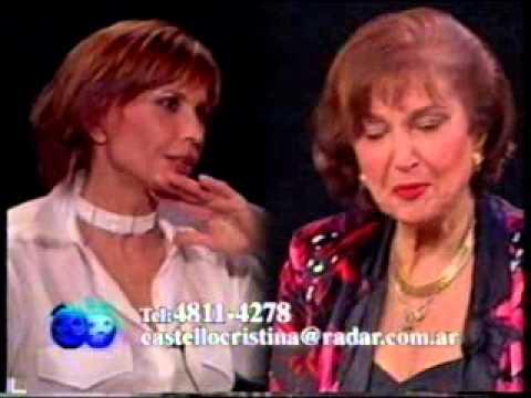 """Cristina Castello, """"Sin Máscara"""", con Pía Sebastiani – 24 08 2000"""