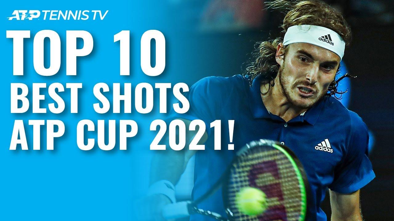 Top 10 Best Tennis Shots & Rallies at ATP Cup 2021!