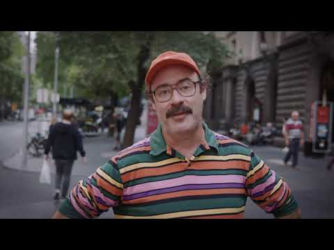 TAC partners with comedian to push pedestrian safety in Melbourne