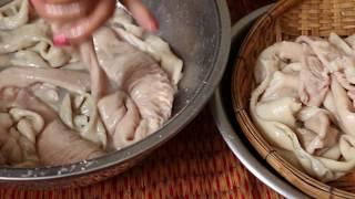 How To Braised Pork Intestine, Popular Food In Cambodia