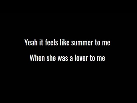 Weezer - Feels Like Summer (Official Video)(Lyric Video)