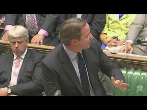 Gender abortion: Cameron is concerned