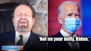 Sebastian Gorka responds to Biden's call for unity