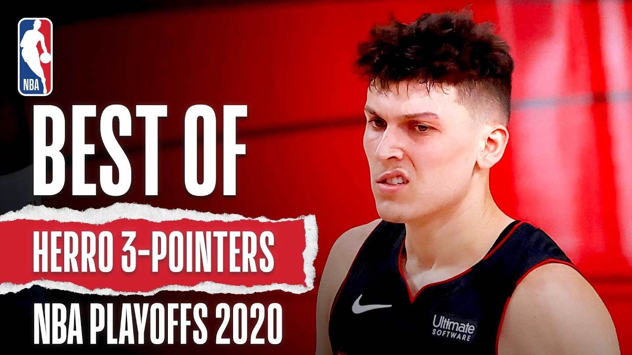 The Best 3-Pointers From Tyler Herro's HISTORIC 2020 #NBAPlayoffs!