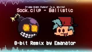 Sock.clip - Ballistic (Emanator 8-bit/Chiptune Remix) [Friday Night Funkin V.s. Whitty]