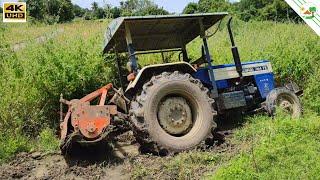 Swaraj 744 FE Tractor Stuck in Heavy Mud | Tractor Videos | Come to Village