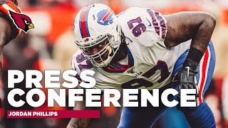 Newly signed arizona cardinals dl jordan phillips discussed his decision to join the cardinals, desire play alongside an elite pass-rusher like lb cha...