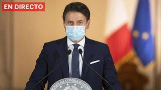 DIRECTO #CORONAVIRUS | El PRIMER MINISTRO ITALIANO GIUSEPPE CONTE anuncia nuevas medidas