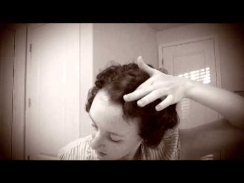 1920s Flapper Hairstyle Tutorial Youtube