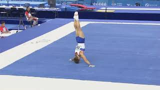Ilya Kibartas FX AA - Universiade Taipei 2017