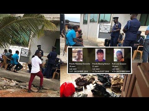 Finally Ghana Pσl!ce Puts Smile On Takoradi G!rls Families Faces