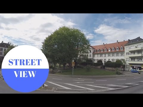 STREET VIEW: Rheinfelden in GERMANY