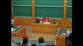 IESE Women's lobby: Dra Marian Rojas-Estapé