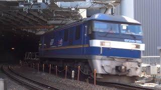 ♯36【鉄道】JR貨物 EF210-305牽引の2086レ