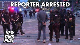 cnn-crew-arrested-live-tv-george-floyd-protests-minneapolis-york-post