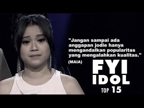 """FYI IDOL """"TOP 15  Maia Takut Jodie Hanya Mengandalkan Popularitas"""""""