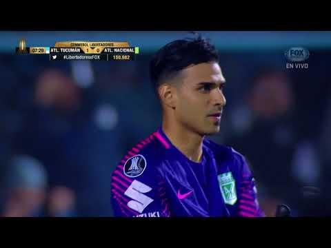 GOL: Atl. Tucumán 1-0 Atl. Nacional