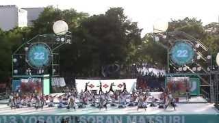 6月9日(日)北海道、札幌で開催された「第22回YOSAKOIソーラン祭りセミ...
