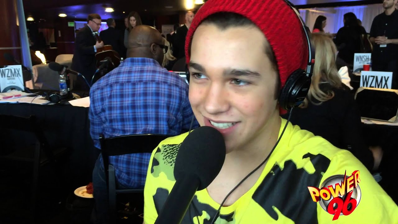 Power96 The Grammys 2014 With Austin Mahone